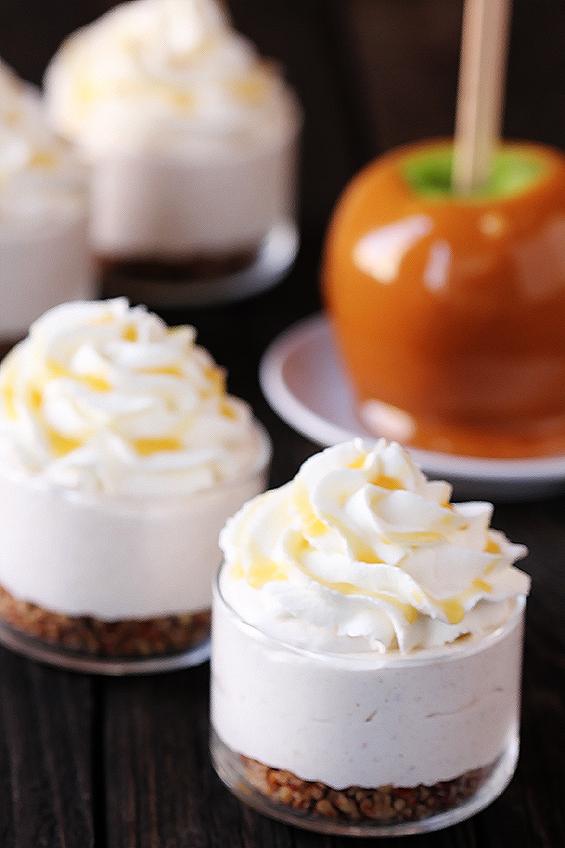 no-bake-caramel-apple-cheesecakes-5