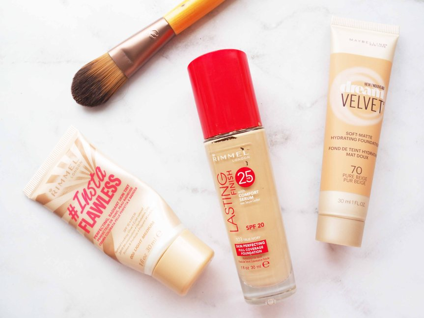 DRUGSTORE FOUNDATIONS WERATE