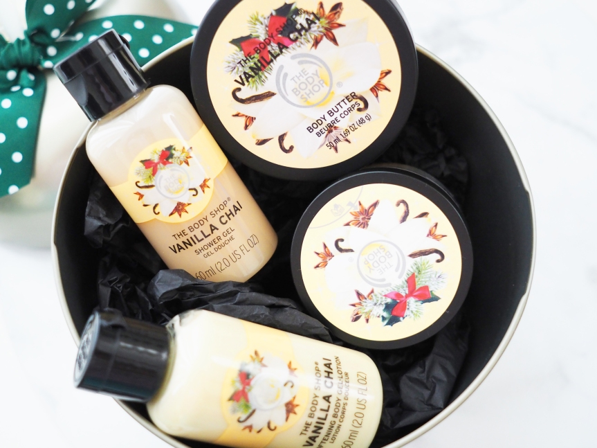 The Body Shop Vanilla Chai Festive Tin
