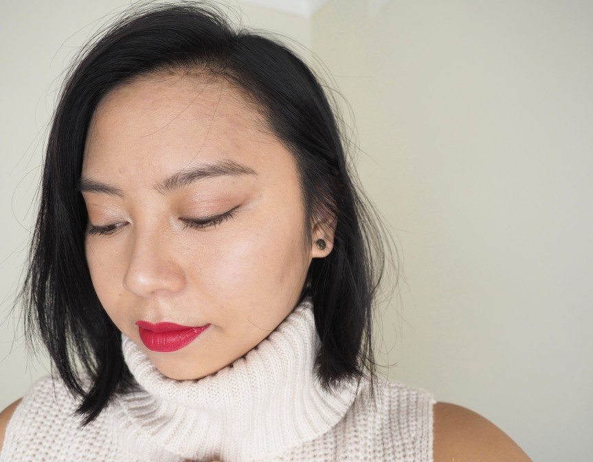 AUTUMN RED | DRUGSTORE MAKEUP LOOK