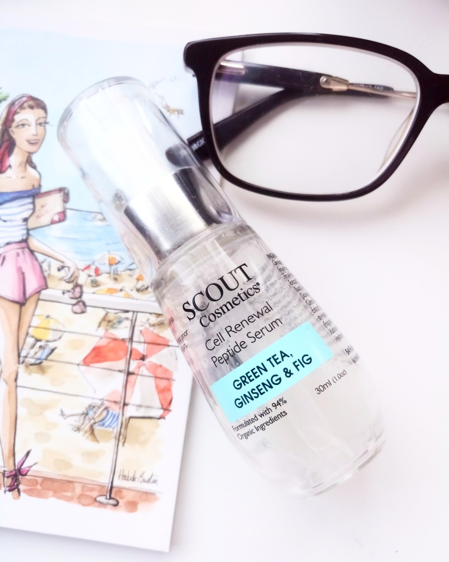 SCOUT COSMETICS' CELL RENEWAL PEPTIDESERUM