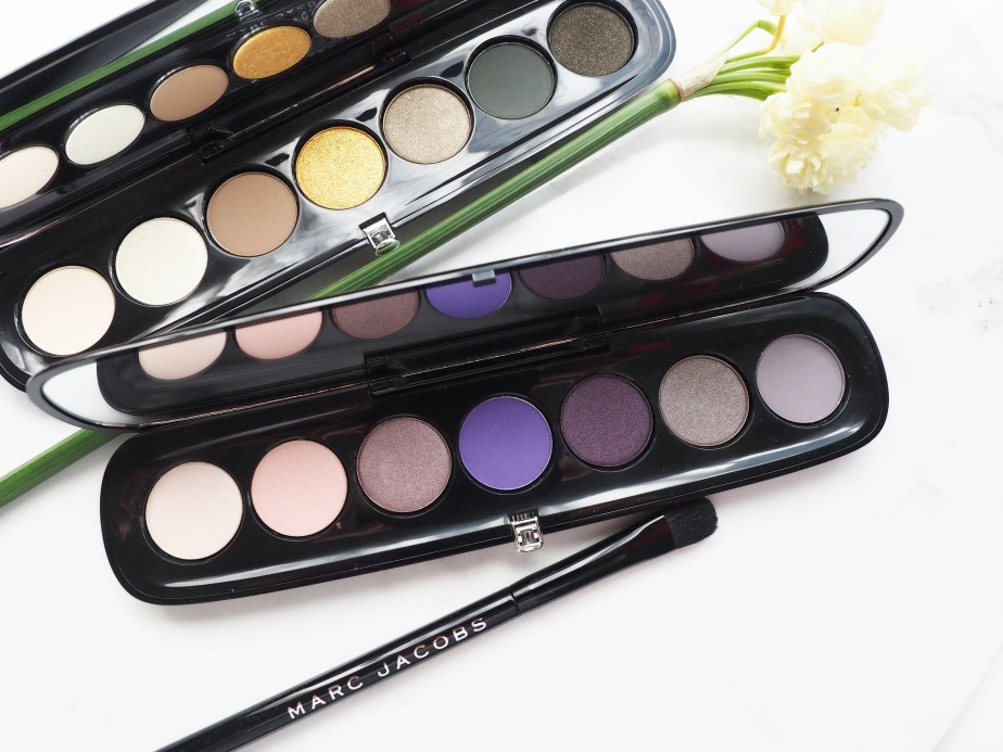MARC JACOBS EYE-CONIC MULTI-FINISH EYE SHADOW PALETTES | REVIEW + SWATCHES