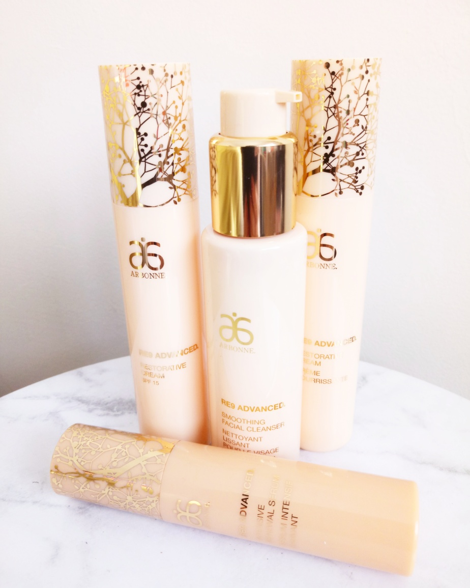 ARBONNE RE9 ADVANCE SKINCARE RANGE | REVIEW