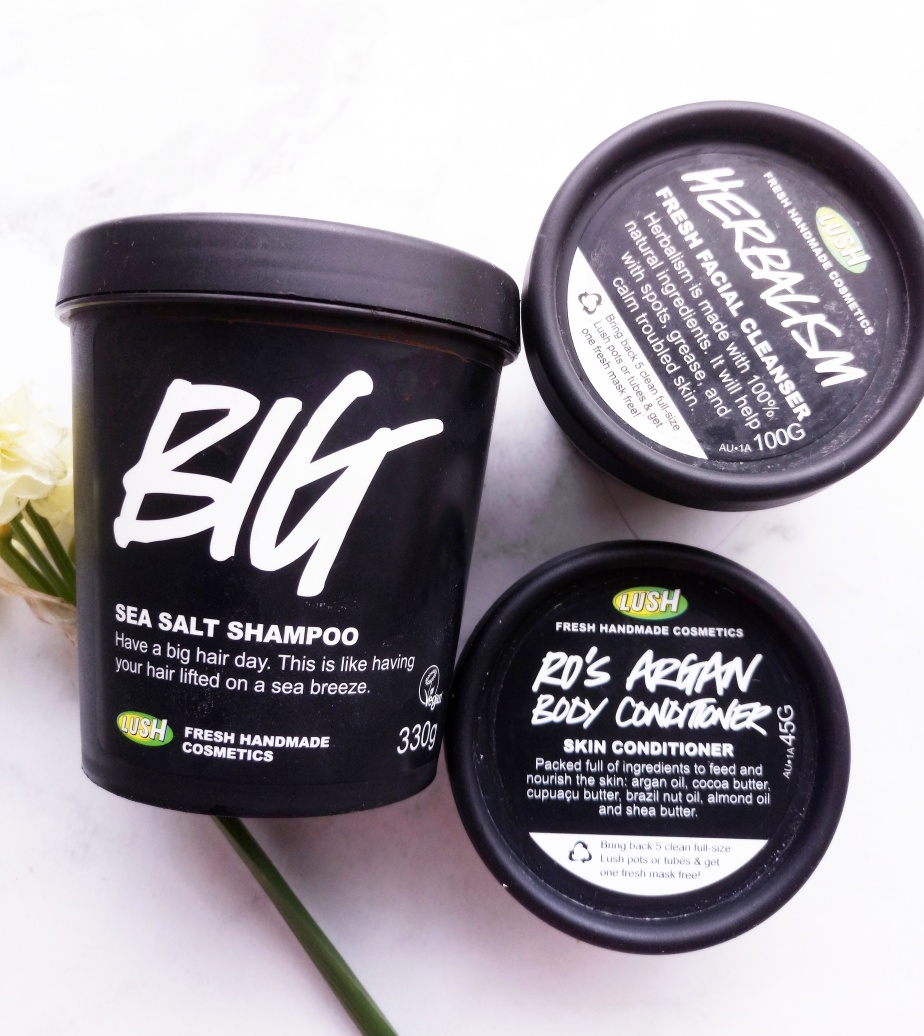 LUSH COSMETICS EMPTIES