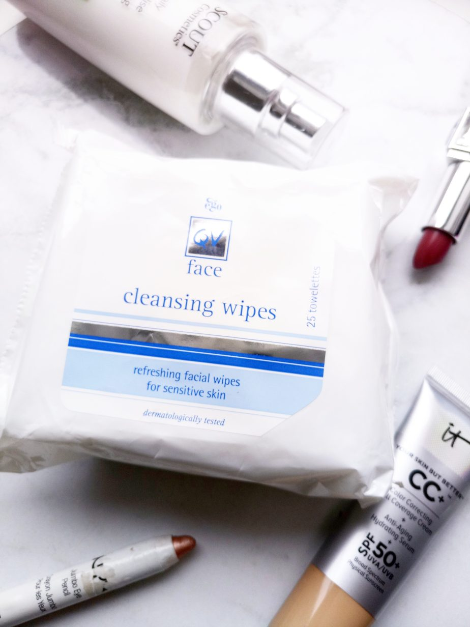 QV FACE CLEANSING WIPES |REVIEW