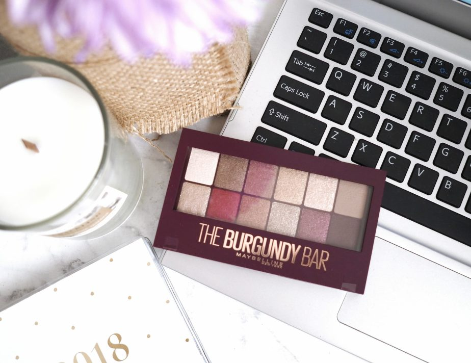 THE AUTUMN PALETTE | MAYBELLINE THE BURGUNDY BAR REVIEW &SWATCHES