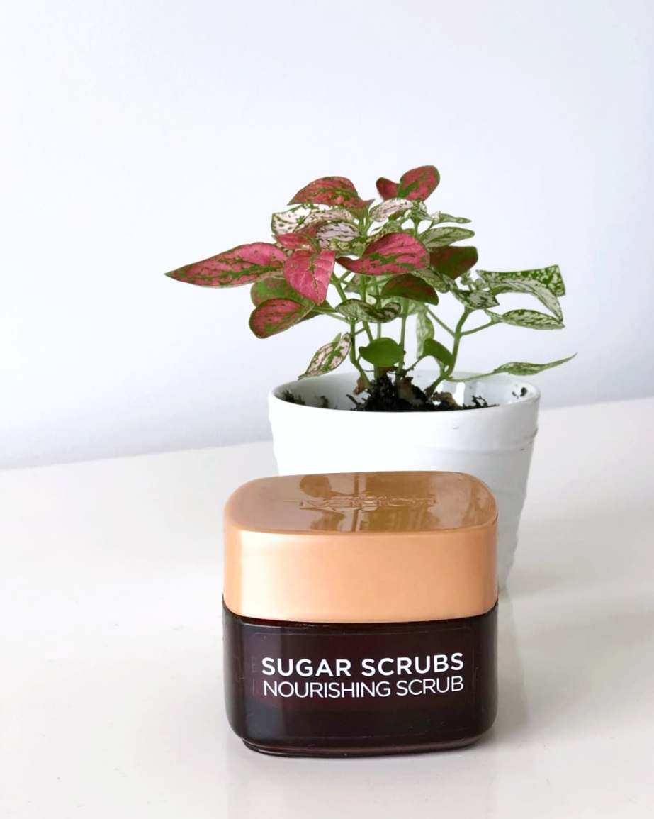 SWEET TREAT | L'OREAL NOURISHING SUGAR SCRUB REVIEW
